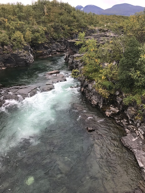 Streaming water in Northern Sweden. Photo: Gia Destouni.