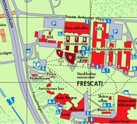 su karta Hitta till oss   Institutionen för naturgeografi su karta