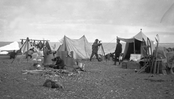 Expedition till Adventfjorden 1896